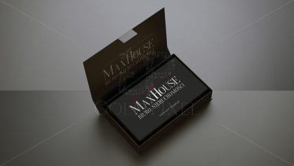 Projekt wizytówek maxhouse