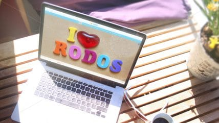 Projekt strony Rodos Dream Tours