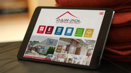 Projekt strony Daw-Pol