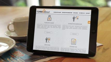 Projekt strony FDBS
