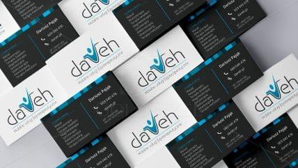 Projekt wizytówki Dareh