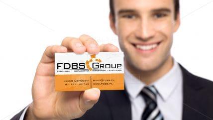 Projekt wizytówki FDBS
