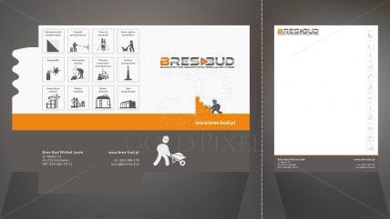 Projekt teczki Bres-Bud