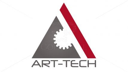 Projekt logotypu Art-Tech