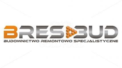 Projekt logotypu Bres-Bud