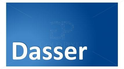 Projekt logotypu Dasser