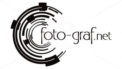 Projekt logotypu foto-graf