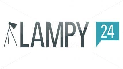 Projekt logotypu Lampy-24