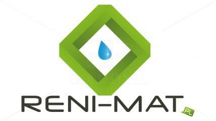 Projekt logotypu reni-mat