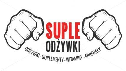 Projekt logotypu suple odżywki