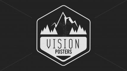 Projekt logotypu Vision Posters