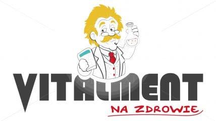Projekt logotypu vitalment